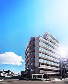 外観CG(※荒井駅・周辺建物と外観CGとの合成)