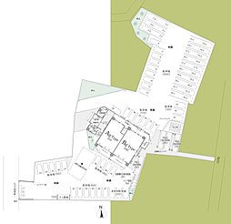 建物敷地配置概念図