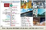 大阪の主要部へ楽々アクセス