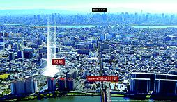 (仮称)大阪梅田6分、駅近マンションプロジェクトの外観