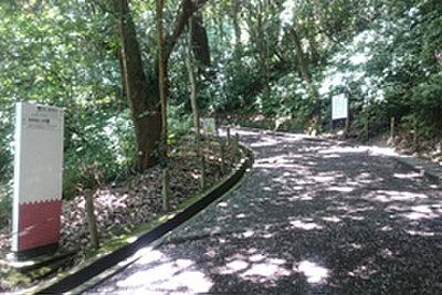 城山遊歩道 約60m(徒歩1分)