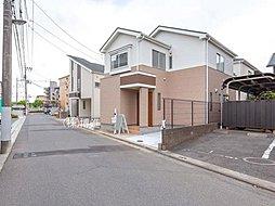 区画整理地内の整備された街並み、 浦和駅行バス停徒歩2分