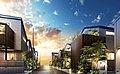 【大和ハウスグループ】■グランフォーラム練馬田柄■駅徒歩6分×池袋へ11分×全11邸の街並み