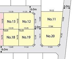 【ダイワハウス】セキュレアかすみがうら下稲吉 (建築条件付宅地分譲):交通図