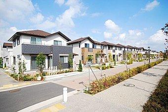 価値が持続する街と家「グリーンコリドール」建売分譲発売中!
