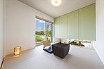 充実の収納付き、寛ぎスペースの和室(当社施工事例)