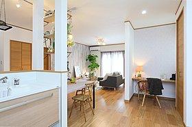 NEWモデルハウス『カフェスタイルダイニングの家』LDK