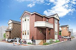 ポラスの分譲住宅 ハーディッシュ・コート新八柱 プライムフィールドの外観