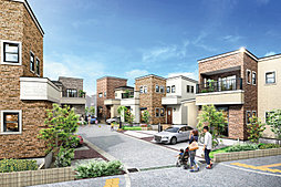 ポラスの分譲住宅 ブリックステイト柏・増尾の外観