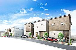 ポラスの分譲住宅 クロスレジデンス南与野 ノースサイド 2nd街区の外観