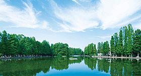 別所沼公園(1000m)