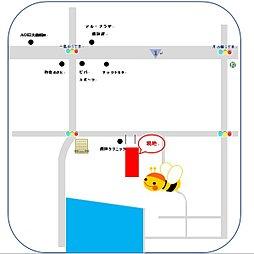 【森田住宅】フォレストパレス大津・一里山<JR瀬田駅 徒歩10分の立地に全5区画の分譲地が誕生>:案内図