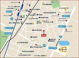プレミアムコンフォート浜寺船尾町西:案内図