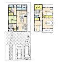 8号地プラン例 建物面積 102.68m2(31.06坪)