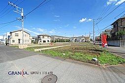 【土地面積38坪以上】 入間市扇町屋 建築条件付き売地