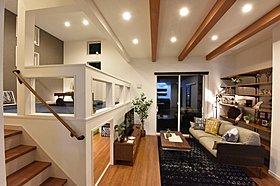 1階納戸とセカンドリビングのあるプラン