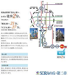 SORAの丘・第二章:交通図