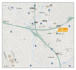 AREX一宮市三ツ井:案内図