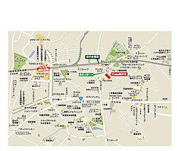 カサ緑が丘 ~スペイン瓦と白い塗り壁 【緑が丘リゾートスタイル】~:案内図