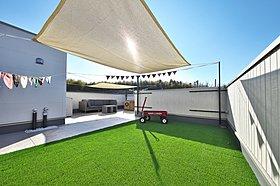 【施工例】交野市倉治プロバンス風モデルハウスのリビング