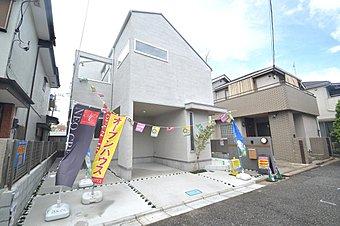 外観完成予想図/新築分譲住宅全1棟 敷地面積111m2(35.57坪)!