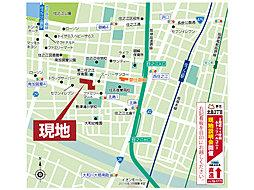 夢住(ゆめすまい) 北島:交通図