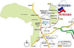 播磨科学公園都市 播磨光都21第5期 建築条件付宅地分譲:案内図