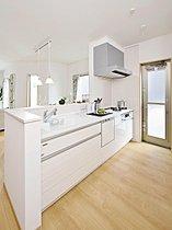 【当社施工例】キッチンは食器洗乾燥機が標準装備。