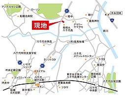野崎の分譲 【COMFORTS八千代II】:交通図