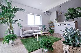 91号地/緑に囲まれた癒しの空間をお楽しみください。