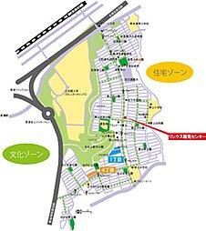 グリーンヒル大津松が丘 未来にやさしい緑あふれる魅力いっぱいの街:案内図