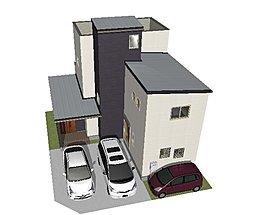 長久手小東の家 完成予想パースです