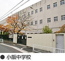 小阪中学校 徒歩10分(800m)
