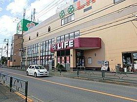ライフ西大泉店:徒歩6分(450m)