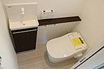 (施工参考例)1、2階にはウォシュレット付きのトイレも付いております!