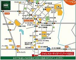 フォレスト・サイド・リゾート辰巳/全70区画の大型分譲地:案内図