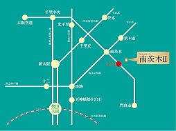 シエルセーヌ南茨木2 ~土地建物3790万円より~:交通図