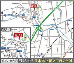 シエルセーヌ茨木上郡:交通図