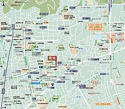 【新箕面駅×牧落駅】2WAYアクセス スピガタウン箕面・稲1:案内図