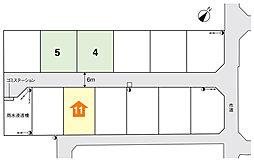 JR西那須野駅まで1050m、那須塩原新南2期【全12区画】が誕生。 【トヨタウッドユーホーム】:案内図
