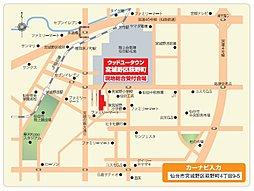 宮城野区萩野町4丁目/トヨタウッドユーホーム株式会社:交通図