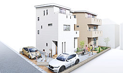 ファミーユ東大成2丁目:オール電化・2×4工法の外観