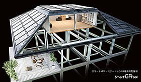 スマートパワーステーションGR専用勾配屋根・スマートGルーフ