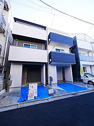 JR線『尾久』駅徒歩7分!! 全4邸の所有権新築戸建♪