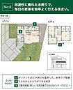 【No.6】価格: 2890万円 間取り: 4LDK 土地面積: 283.02m2 建物面積: 126.52m2