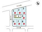 ◆全8区画の分譲地です。◆公道約6~12mと、車のすれ違いに便利です。◆JR常磐線「東海駅」まで徒歩10分と、電車を利用した通勤・お出かけに便利です。