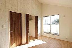 洋室(勾配天井)