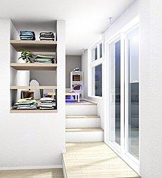 家族のマルチ空間<ファミリーアティック>のある家。子ども遊び部屋、ご主人の書斎はもちろん奥様の家事スペースとしても活躍!バルコニーに面するアティックは室内干しスペースとしてお使いください。,4SLDK,面積95.08m2,価格税込価格:3550万円(5号棟家具付)(外構工事代、全居室照明代込),新京成電鉄「五香」駅 徒歩5分,,千葉県松戸市五香西2-3-35