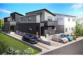 分譲地の中に新設された公園です。