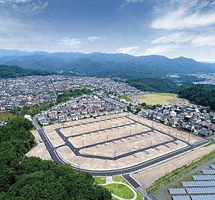 新たに造成された美しい街、全105区画の新区画、誕生